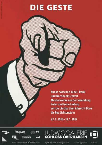 Plakat Ludwiggalerie Schloß Oberhausen
